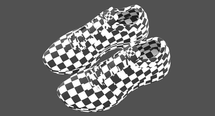 Sneakers royalty-free 3d model - Preview no. 17