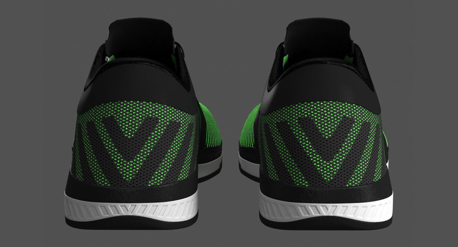 Sneakers royalty-free 3d model - Preview no. 7