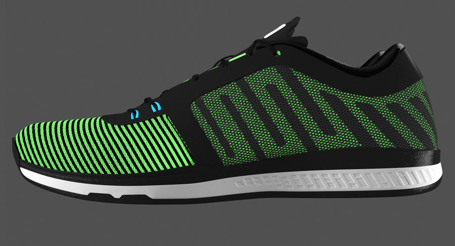 Sneakers royalty-free 3d model - Preview no. 6