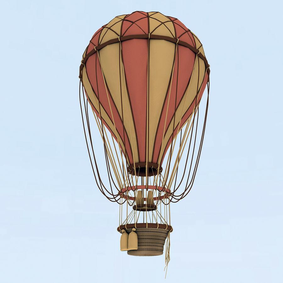 air balloon royalty-free 3d model - Preview no. 13