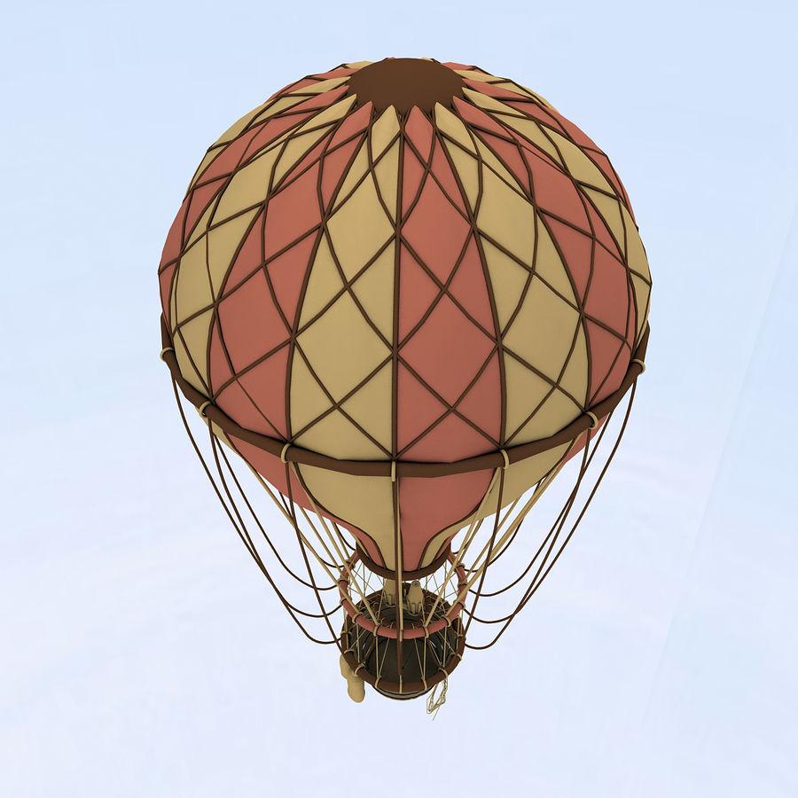 air balloon royalty-free 3d model - Preview no. 6