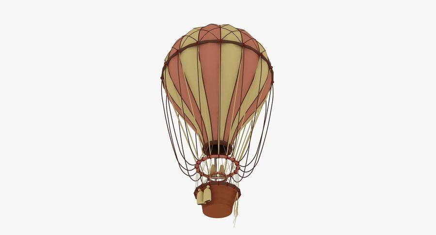 air balloon royalty-free 3d model - Preview no. 4
