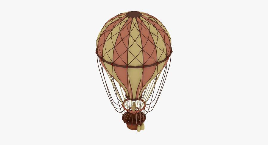 air balloon royalty-free 3d model - Preview no. 3