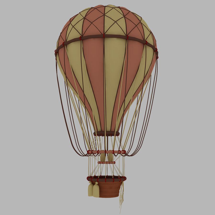 air balloon royalty-free 3d model - Preview no. 2