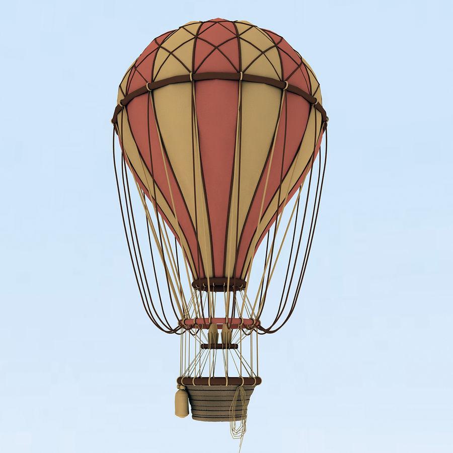 air balloon royalty-free 3d model - Preview no. 14