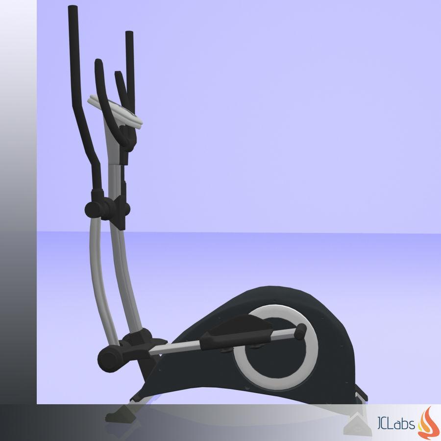 Kettler Crosstrainer royalty-free 3d model - Preview no. 7