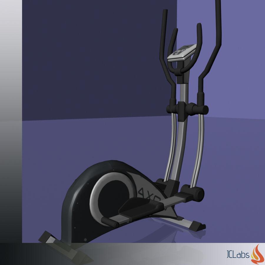 Kettler Crosstrainer royalty-free 3d model - Preview no. 11