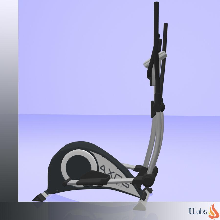 Kettler Crosstrainer royalty-free 3d model - Preview no. 3