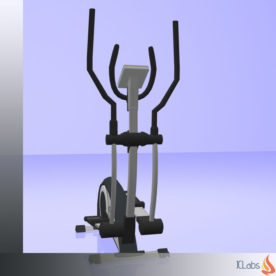 Kettler Crosstrainer royalty-free 3d model - Preview no. 5