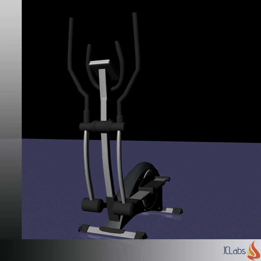 Kettler Crosstrainer royalty-free 3d model - Preview no. 13
