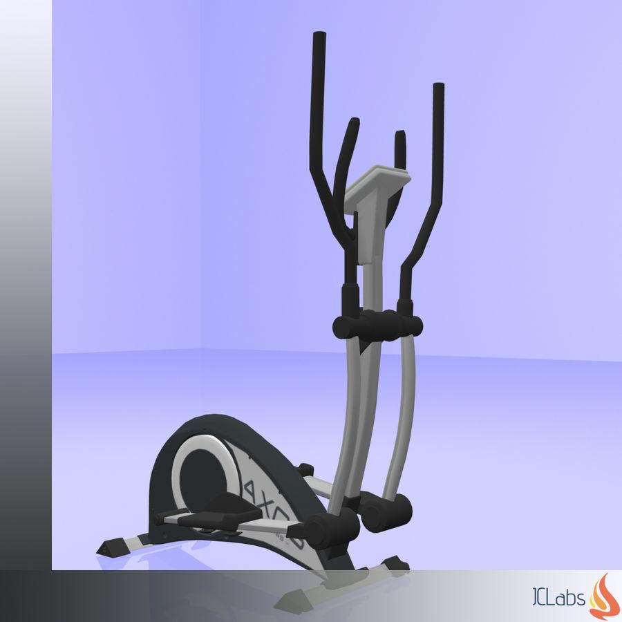 Kettler Crosstrainer royalty-free 3d model - Preview no. 4