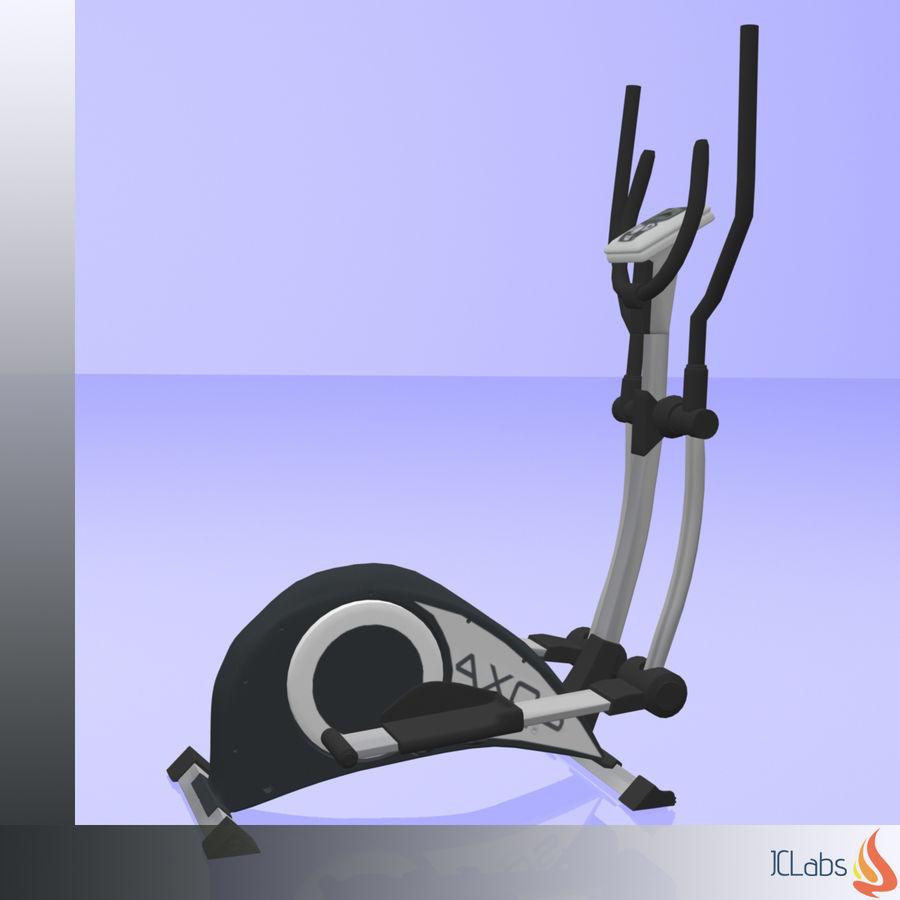 Kettler Crosstrainer royalty-free 3d model - Preview no. 2