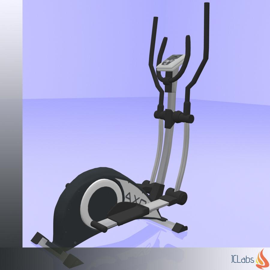 Kettler Crosstrainer royalty-free 3d model - Preview no. 1