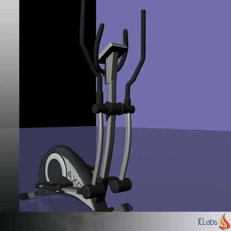 Kettler Crosstrainer royalty-free 3d model - Preview no. 10