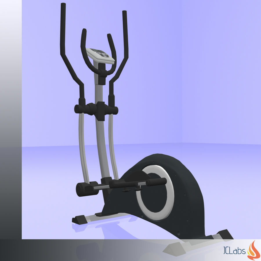 Kettler Crosstrainer royalty-free 3d model - Preview no. 8