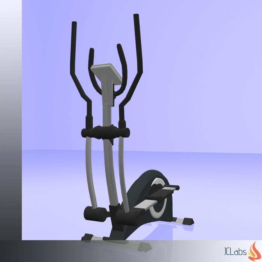 Kettler Crosstrainer royalty-free 3d model - Preview no. 6