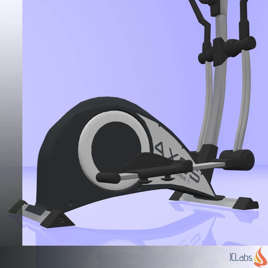 Kettler Crosstrainer royalty-free 3d model - Preview no. 9