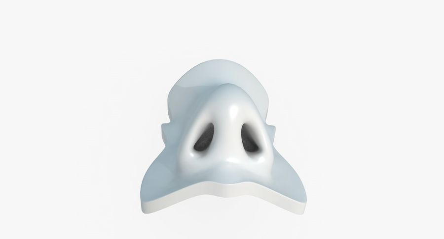 Nose royalty-free 3d model - Preview no. 10