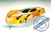 \\ T // Hover Car 07 3d model