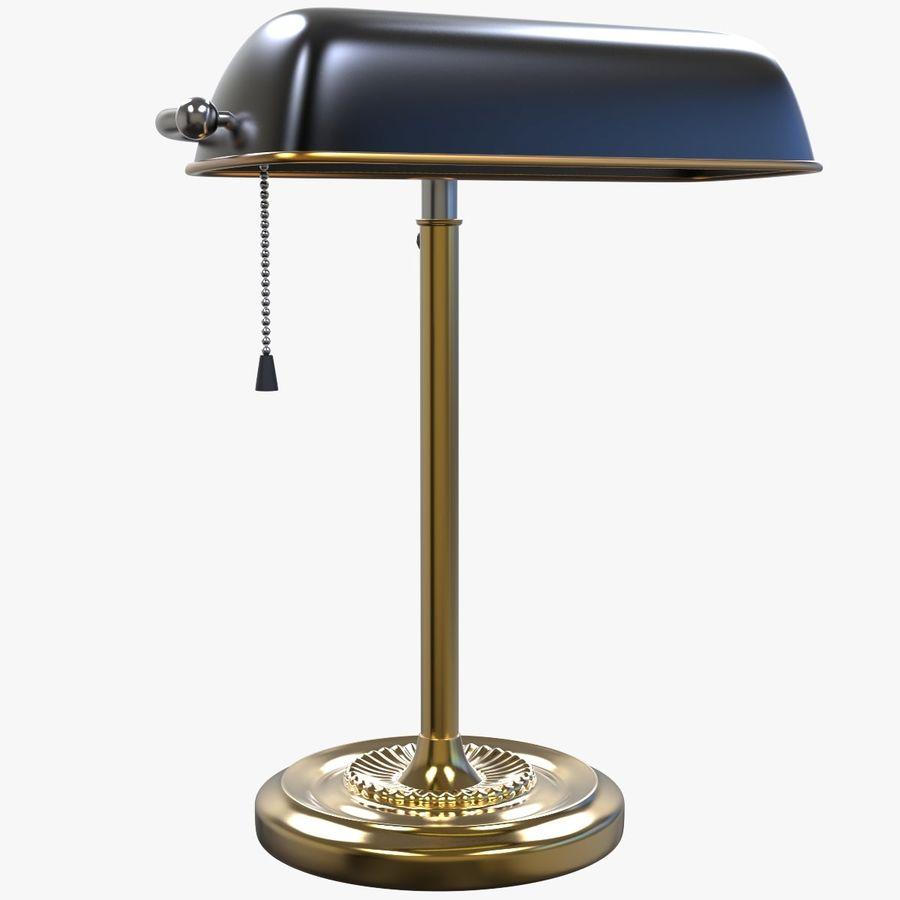 Lampe De Bureau Vintage Modele 3d 29 Obj Max Fbx C4d Free3d
