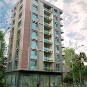 Zielony apartament 3d model