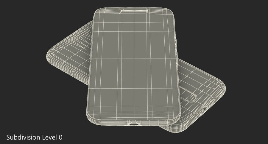 Motorola Moto G4 Black royalty-free 3d model - Preview no. 10