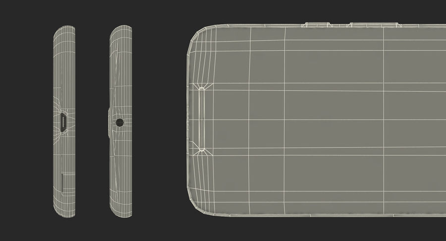Motorola Moto G4 Black royalty-free 3d model - Preview no. 21