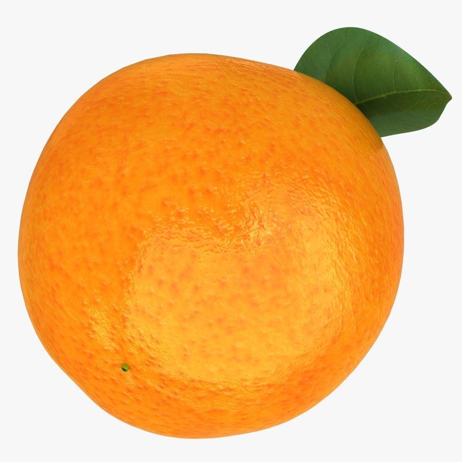 Orange Fruit royalty-free 3d model - Preview no. 10
