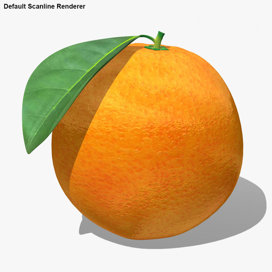 Orange Fruit royalty-free 3d model - Preview no. 17