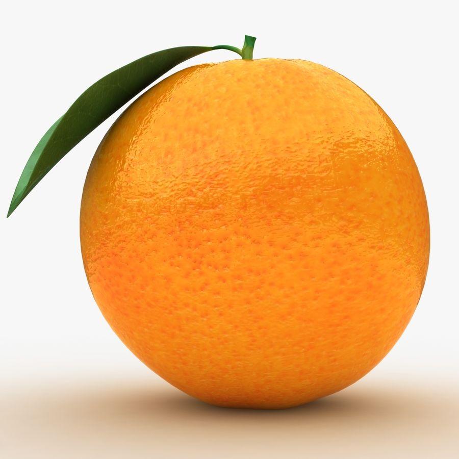 Orange Fruit royalty-free 3d model - Preview no. 9