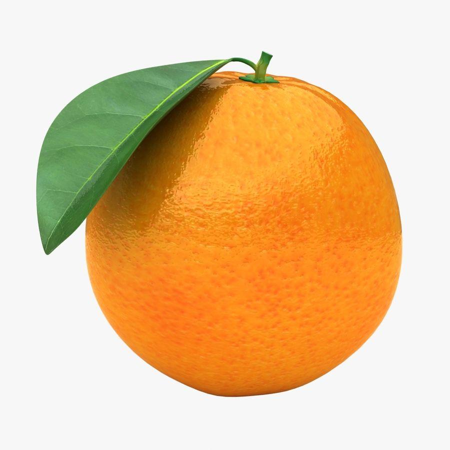 Orange Fruit royalty-free 3d model - Preview no. 1