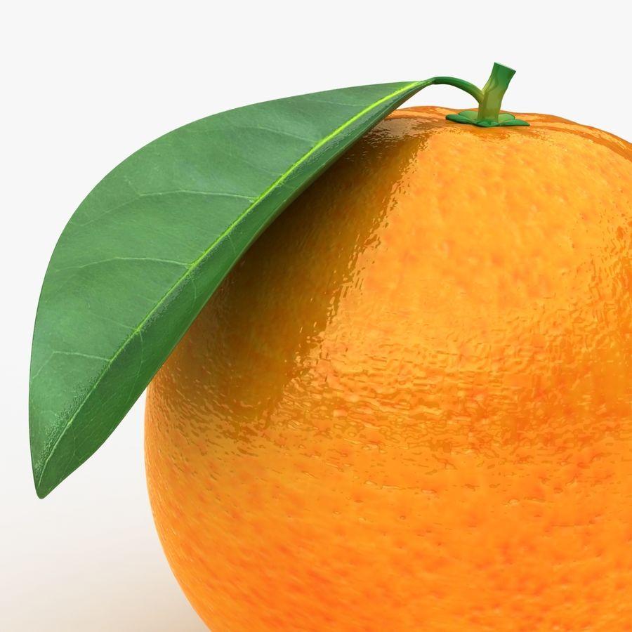 Orange Fruit royalty-free 3d model - Preview no. 3