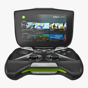Nvidia Shield Portable 3d model