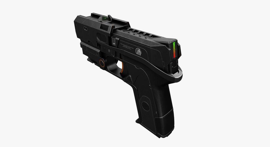 Sci-fi Gun royalty-free 3d model - Preview no. 2