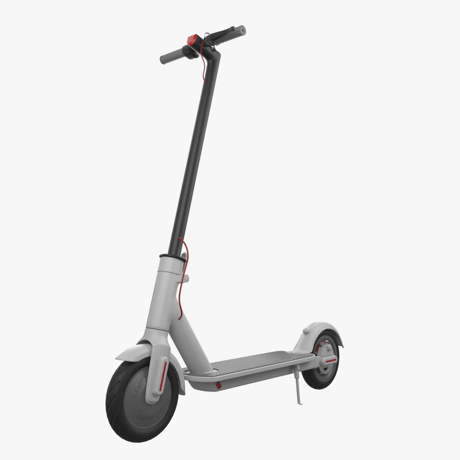 Electric Scooter royalty-free 3d model - Preview no. 1