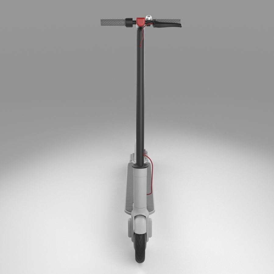 Electric Scooter royalty-free 3d model - Preview no. 8