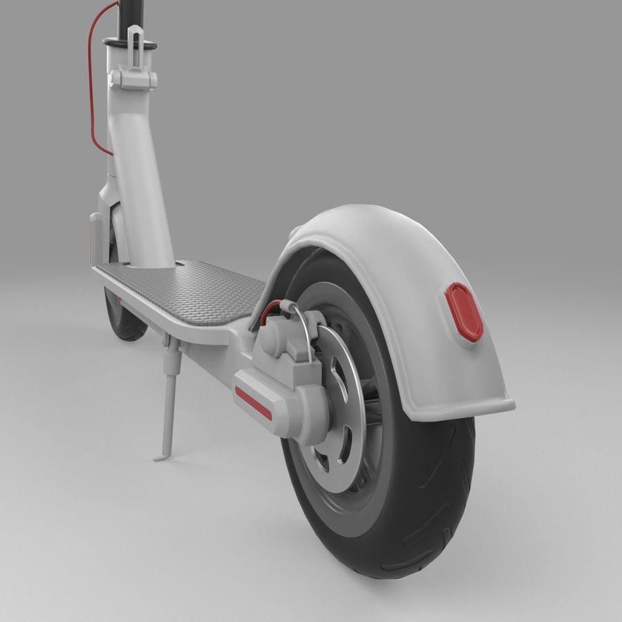 Electric Scooter royalty-free 3d model - Preview no. 13