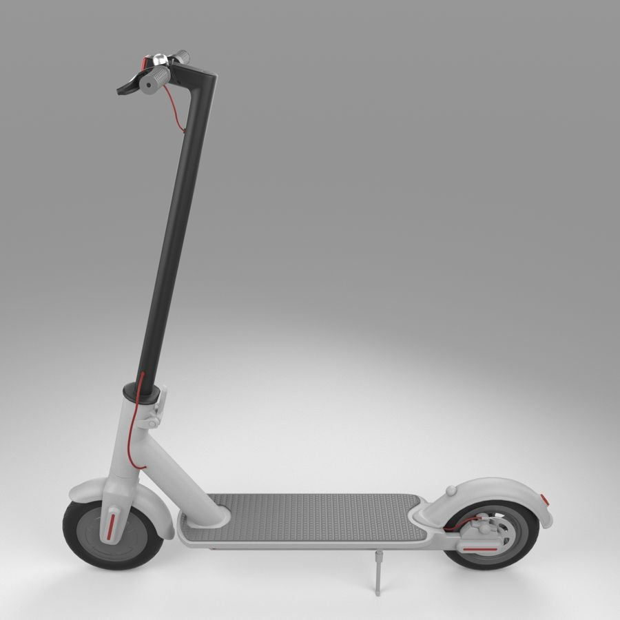 Electric Scooter royalty-free 3d model - Preview no. 10