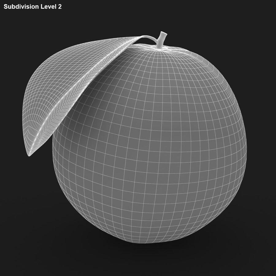 Blood Orange Fruit royalty-free 3d model - Preview no. 13