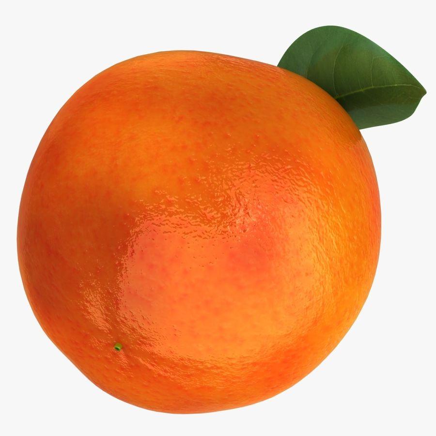 Blood Orange Fruit royalty-free 3d model - Preview no. 10