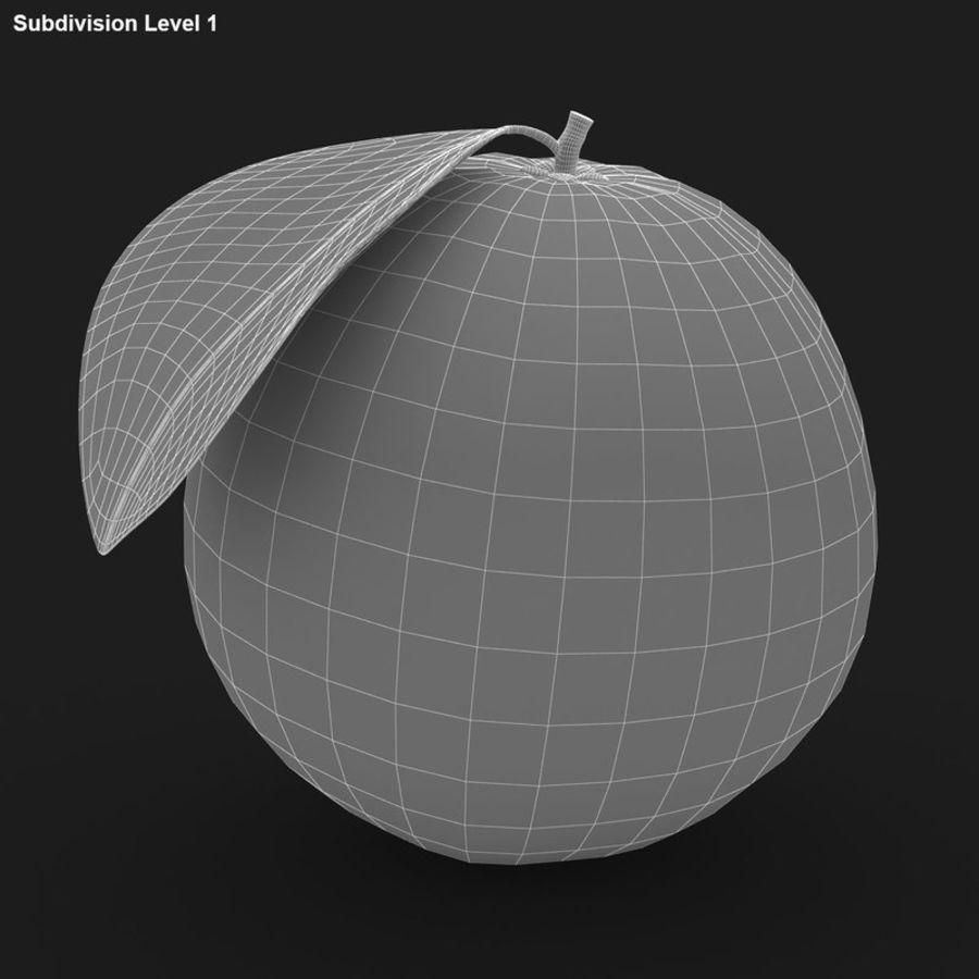 Blood Orange Fruit royalty-free 3d model - Preview no. 12