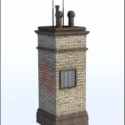 Brick Chimney V2 3d model
