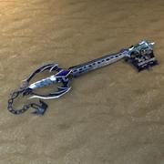 Oblivion Keyblade 3d model