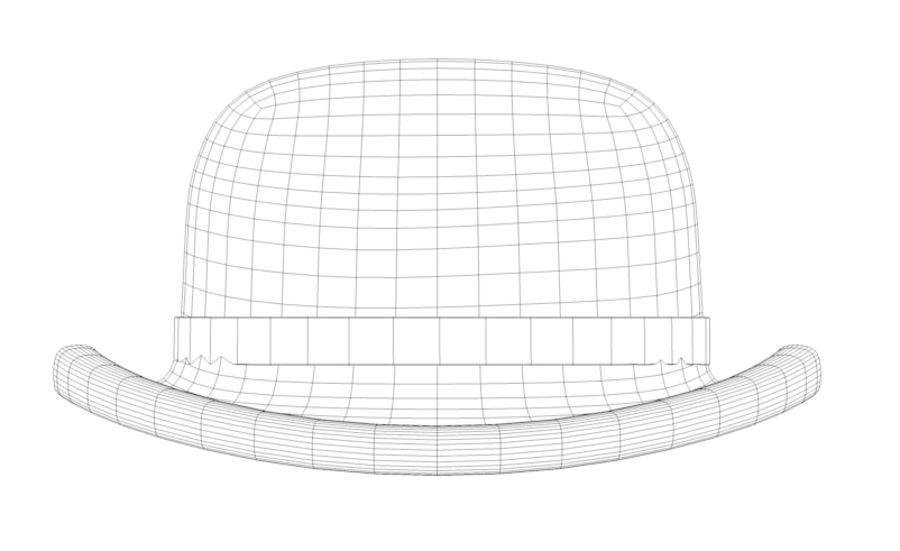 帽子 royalty-free 3d model - Preview no. 4