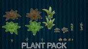 Plant Pack v1 3d model