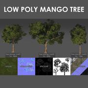 Mango Tree Pack 3d model