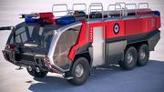 Rosenbauer Panther Firetruck 6x6 3d model