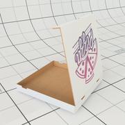 Pizza Box 3d model