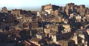 İtalya. Matera 3d model
