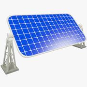 Sun Battery 3d model